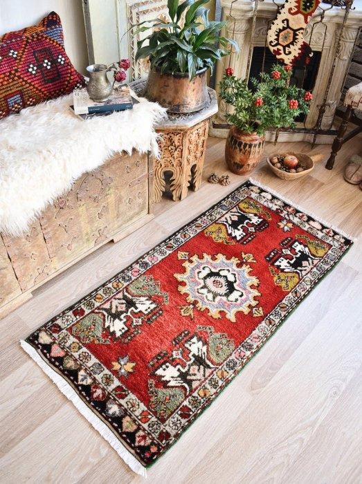 オールド絨毯 ヤストゥック クルシェヒル  約123×59