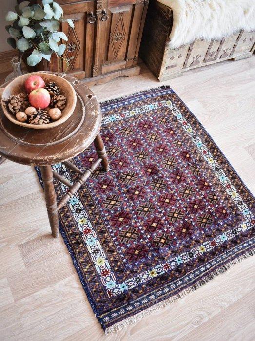オールド絨毯 バルーチ  約99×91