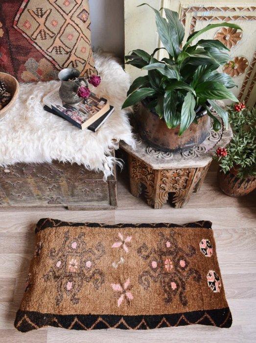 オールド絨毯 ピローカバー カルス  78×46�