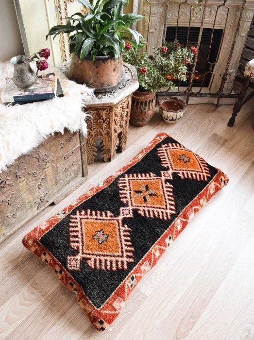 オールド絨毯 ピローカバー マラティア  95×51�