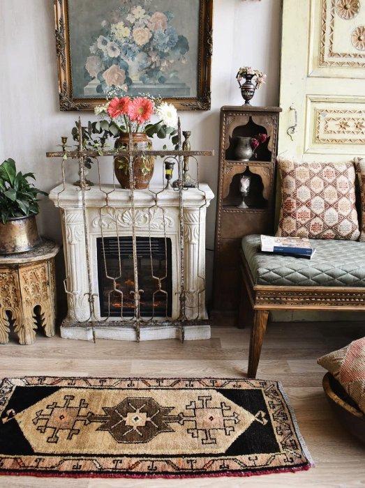 オールド絨毯 ヤストゥック カルス 約109×51