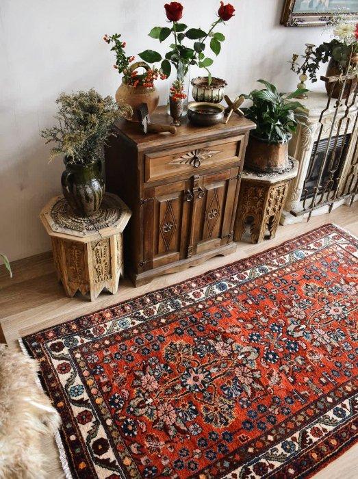 オールド ペルシャ絨毯  約187×102