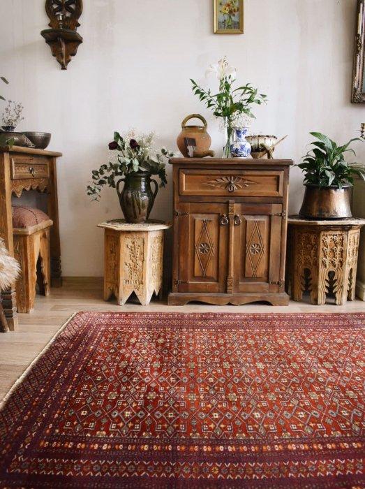 アフガン産トルクメン絨毯  約190×125