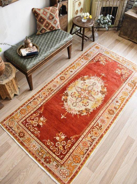 スーパーファイン オールド絨毯ギュネイ 約213×110