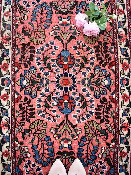ペルシャ産オールド絨毯  リリアン 約132×71