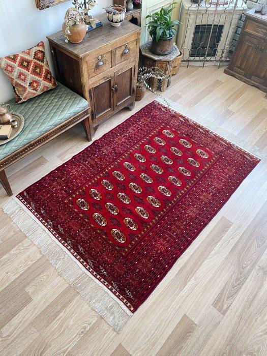 ペルシャ産オールドトルクメン絨毯 約188×130