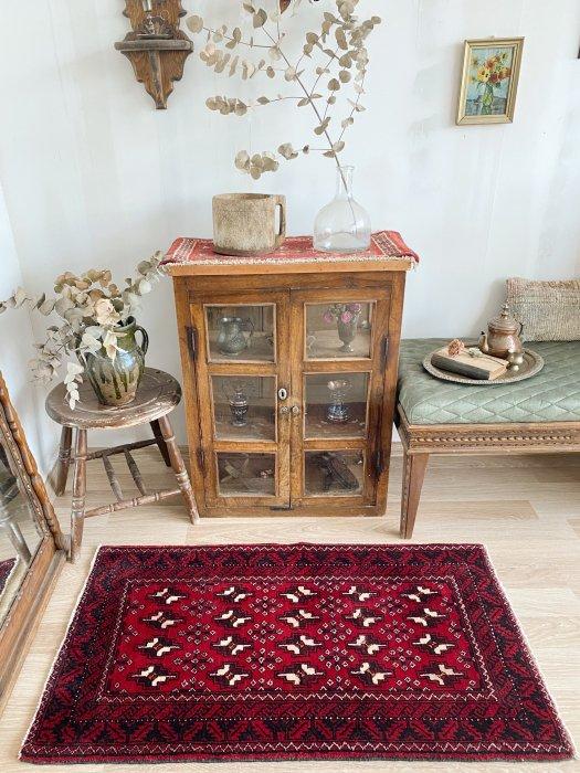 ペルシャ産オールドミニバルーチ絨毯  約115×66