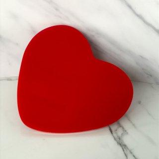 【Paw Palette】Luv Magnetic Palette [Red]|【パウパレット】 マグネット式パレット ハート型 (レッド)