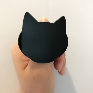 【Paw Palette】Purr Baby Paw [Black]|パウパレット 黒猫 指輪タイプ