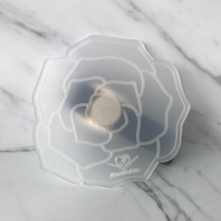 【Paw Palette】Rose - Magnetic & Interchangeable |【パウパレット】ローズ型 マグネットタイプ (クリア&ホワイト)