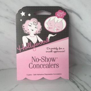 【HOLLYWOOD FASHION SECRETS】 No-Show Concealers| 使い捨て ニップルカバーシール(5セット入り)