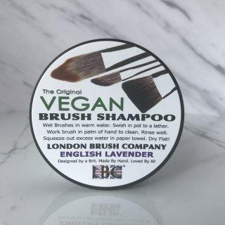 ヴィーガン ブラシ用 固形シャンプー(ラベンダー)|Vegan Solid Brush Shampoo: English Lavender