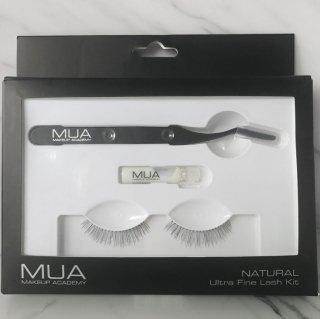 MUA Ultra fine lash KIT|つけまつげ・専用ピンセット・グルーセット