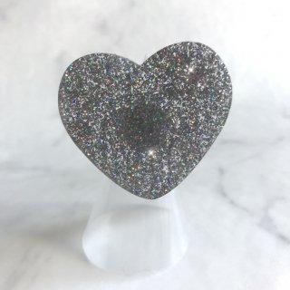 【Paw Palette】Luv Baby Paw [Hollywood Glitter] |【パウパレット】 ハート型 指輪タイプ(ハリウッド グリッター)