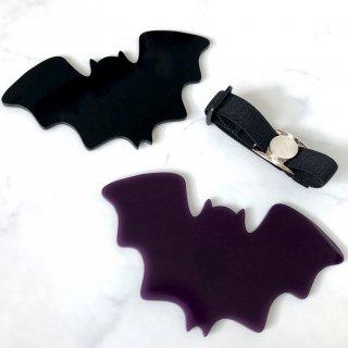 【Paw Palette】Bat Combo Set of 2! [Black&Purple]|【パウパレット】 コウモリ型パレット2枚セット(ブラック&パープル)