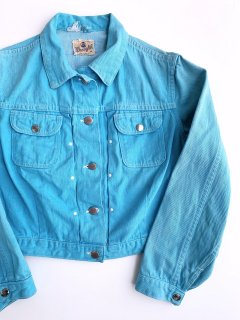 <img class='new_mark_img1' src='https://img.shop-pro.jp/img/new/icons44.gif' style='border:none;display:inline;margin:0px;padding:0px;width:auto;' />1960's Wrangler color-denim JACKET size 18