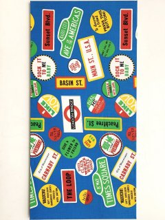 1960's ALL-OVER-PRINT FABRIC PANEL DEADSTOCK