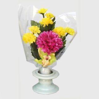 新仏壇用供花 ボールマム