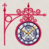 ガーデン時計(大小の2個セット)