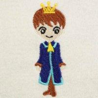シンデレラの王子様(大小の2個セット)