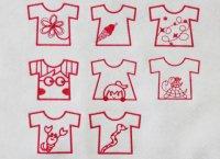 ワンコイン・デザインPack10(Tシャツ 8種類)