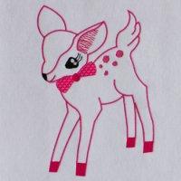 ワンコイン・デザインPack16(小鹿ちゃん 大型モチーフ 1種類)