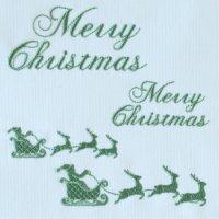 ワンコイン・デザインPack26(メリークリスマス&サンタソリ4種類)