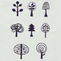 ワンコイン・デザインPack34(北欧風木々 8種類)
