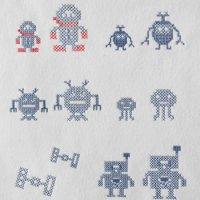 ワンコイン・デザインPack45(ロボットA  12種類)