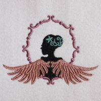ワンコイン・デザインPack78(天使の羽と女の子 4種類)