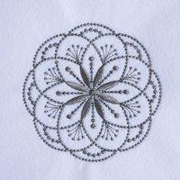 ワンコイン・デザインPack89(マンダラデザインA  2種類)オリジナル刺繍データ