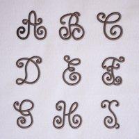 ワンコイン・デザインPack90(手刺繍風3Dアルファベット [A〜I ] 9文字)刺繍データ