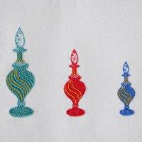 ワンコイン・デザインPack109(香水瓶A 3種類)刺繍データ