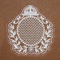 ワンコイン・デザインPack135(エンブレムA 2種類)刺繍データ