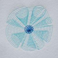 ワンコイン・デザインPack136(お花のひらりん刺繍)刺繍データ