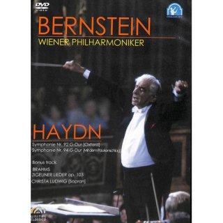 【DVD】バーンスタイン/ウィーン・フィルハーモニー管弦楽団 ハイドン:交響曲第92番・ハイドン:交響曲第94番