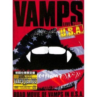 【DVD】VAMPS LIVE 2009 U.S.A. 【初回限定生産盤】