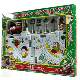 【特価】クリスマスパズルシティ(トレイン) CHRISTMAS PUZZLE CITY