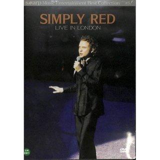 【特価】【DVD】SIMPLY RED  LIVE IN LONDON シンプリー・レッド