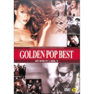 【特価】【DVD】GOLDEN POP BEST VOL.1