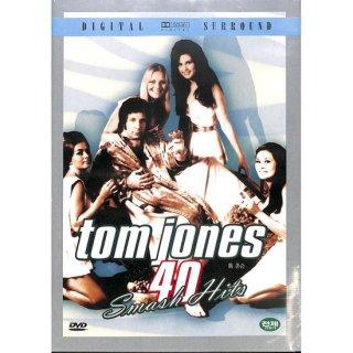 【特価】【DVD】tom jones  40Smash Hits トム・ジョーンズ