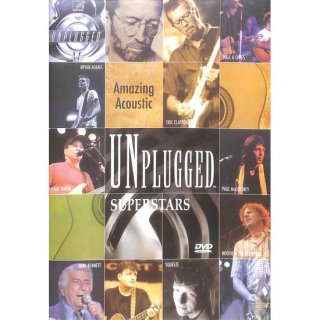 【特価】【DVD】Amazing Acoustic UNPLUGGED SUPERSTARS