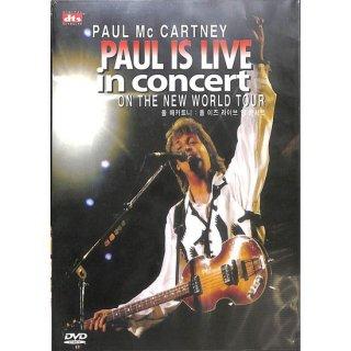 【特価】【DVD】PAUL McCARTNEY PAUL IS LIVE in concert ON THE NEW WORLD TOUR ポール・マッカートニー