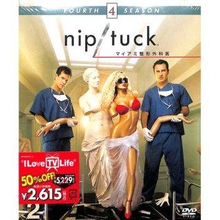 【<s>参考価格2,739円</s>】【DVD】NIP/TUCK マイアミ整形外科医 フォース・シーズン セット2【3枚組】【全7話】