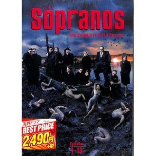 【<s>参考価格2,739円</s>】【DVD】ザ・ソプラノズ 哀愁のマフィア フィフス・シーズン【4枚組】