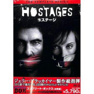 【<s>参考価格6,369円</s>】【DVD】ホステージ コンプリート・ボックス【8枚組】【EPISODES1-15】【オリジナルリーフレット付】