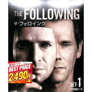 【<s>参考価格2,739円</s>】【DVD】ザ・フォロイング  セカンド・シーズン セット1【4枚組】【EPISODES1-8】
