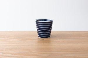 ARITA PORCELAIN LAB | カップ 独楽筋(藍)