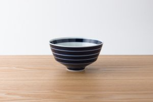 ARITA PORCELAIN LAB | 丼 独楽筋(藍)