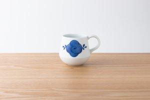 FIORE | マグカップ 花つる(藍)